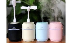 Humidifier small fan LED household nightlight