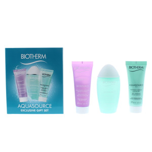 Biotherm Aquasource Day Tripper Set: 20ml Cleansing Gel & Toning