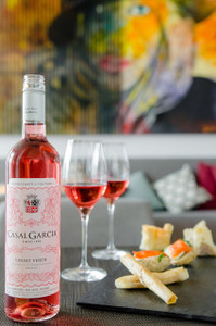 Adega Mor Vale Da Burra Red Wine Portugal and Rose Casal Garcia