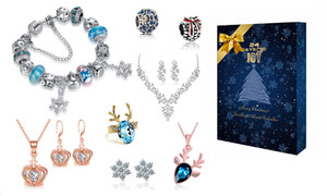 24 days Christmas jewellery advent calendar