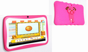 Smartpad kids 7inchtablet with rubber protection case