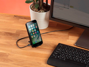 QI Fast Wireless Charging pad with stand