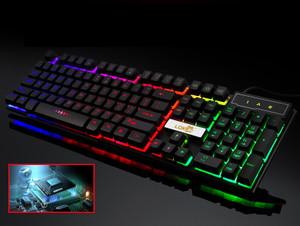 LED Light UP Gaming Keyboard