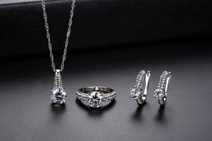 Zircon 3pcs Jewelry Gift set