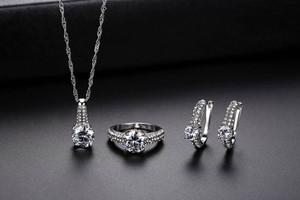 Zircon 3pcs Jewelry Gift set