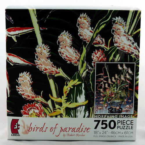 Shop at Archway Variety now for Birds Of Paradise 750 piece Jigsaw Puzzle Robert Kercher