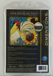 Shop now at Archway Variety for Rooster Petite Gold Collection Dimensions Cross Stitch Kit