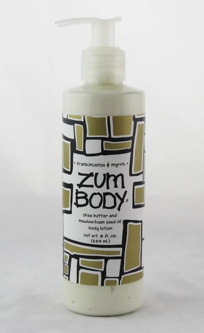 Shop here now for Frankincense Myrrh Body Lotion Indigo Wild All Natural