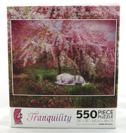 Shop now for Where Unicorns Dream 550 piece Jigsaw Puzzle Tranquility