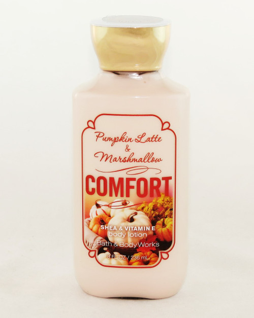 Click here to buy Comfort Pumpkin Latte Marshmallow Bath and Body Works Lotion