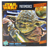 Click here to buy Yoda 1000 Piece Jigsaw Puzzle Star Wars Photomosaic