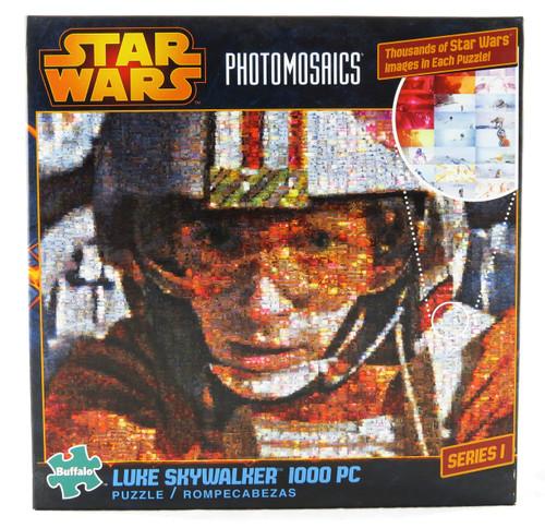 Shop now for Luke Skywalker 1000 piece Jigsaw Puzzle NEW Photomosaic