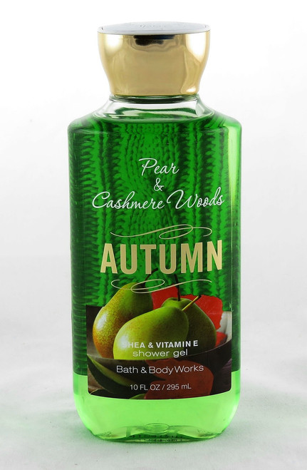 Shop here for Autumn Pear Cashmere Woods Shower Gel Wash Bath and Body Works