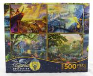 Shop now for Thomas Kinkade Disney Dreams 500 piece Jigsaw Puzzle Collection