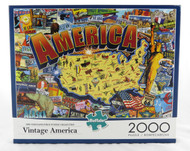 Shop now for 2000 piece Jigsaw Puzzle Vintage America NEW