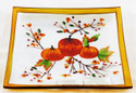 Shop with us for Harvest Pumpkin Yankee Candle Tray Plate Glass
