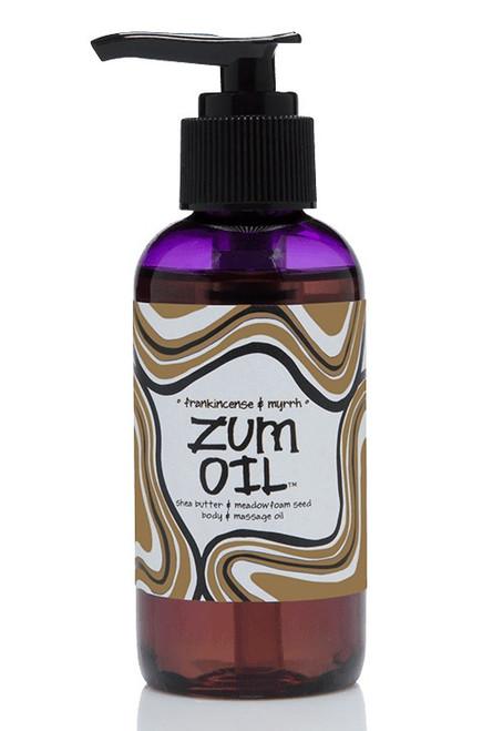 Click here to buy Frankincense and Myrrh Zum Massage Oil Indigo Wild Natural
