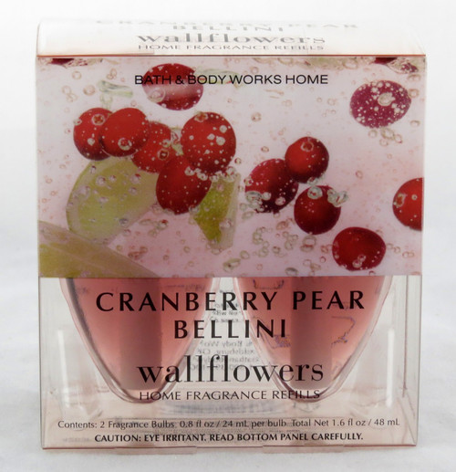 Shop now for Cranberry Pear Bellini Wallflower Fragrance Plug Refill 2-Pack Bath and Body Works