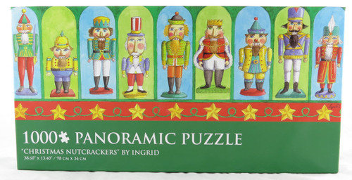 Shop now for Ingrid 1000 Piece Christmas Nutcrackers Jigsaw Puzzle Panoramic