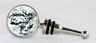 Don't Be Late! Buy the Mad Hatter Bottle Stopper Topper Alice In Wonderland