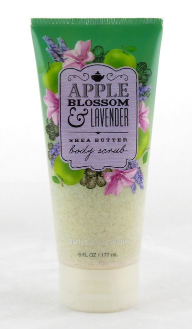 Shop here now for Apple Blossom Lavender Creamy Body Scrub Shea Butter Bath and Body Works