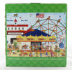 Click here to buy Ellen Stouffer 1000 piece Jigsaw Puzzle County Fair Carousel