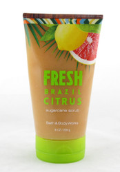 Shop here now for Fresh Brazil Citrus Sugarcane Body Scrub Bath and Body Works