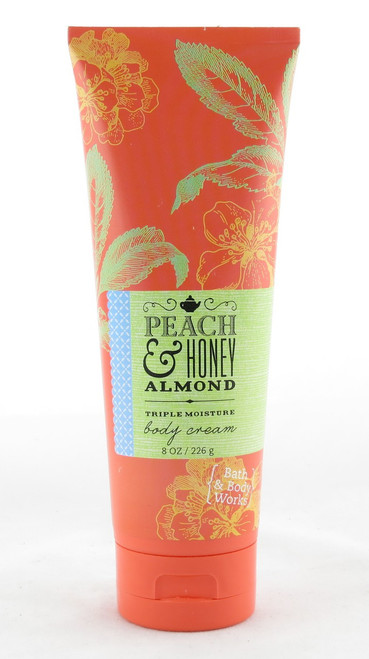 Shop here now for Peach and Honey Almond Triple Moisture Body Cream Bath and Body Works