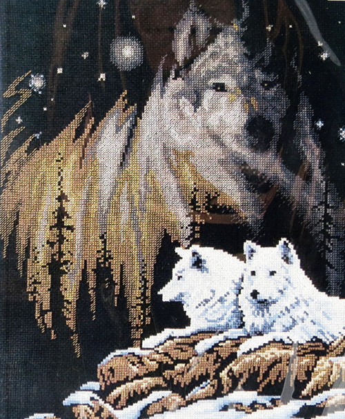 Shop with us now for Northern Lights Counted Cross Stitch Kit Janlynn