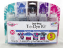 Shop for Tie Dye Fun in Black Blue Teal Fuschia Purple Bright Carousel Colors
