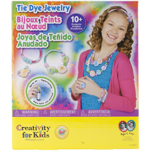 Shop now for Tie Dye Jewelry Craft Activity Kit for Kids