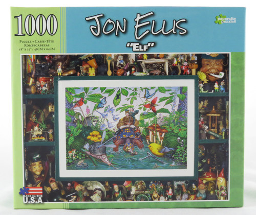 Click here to buy John Ellis Elf 1000 Piece Jigsaw Puzzle