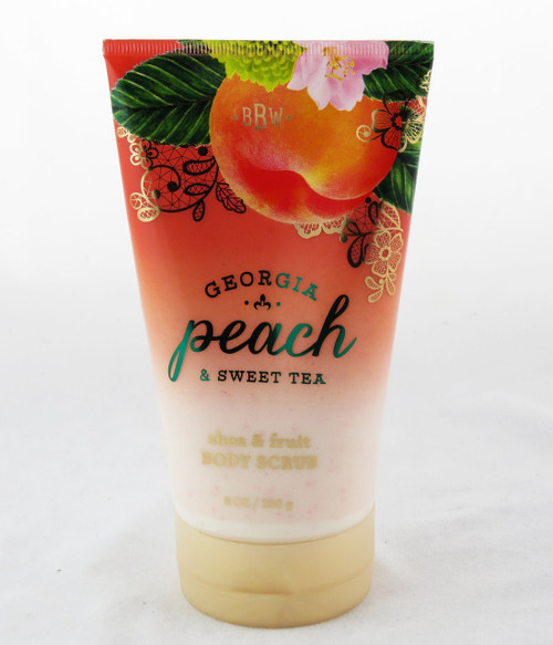 Shop now for Georgia Peach Sweet Tea Shea Fruit Body Scrub Bath and Body Works