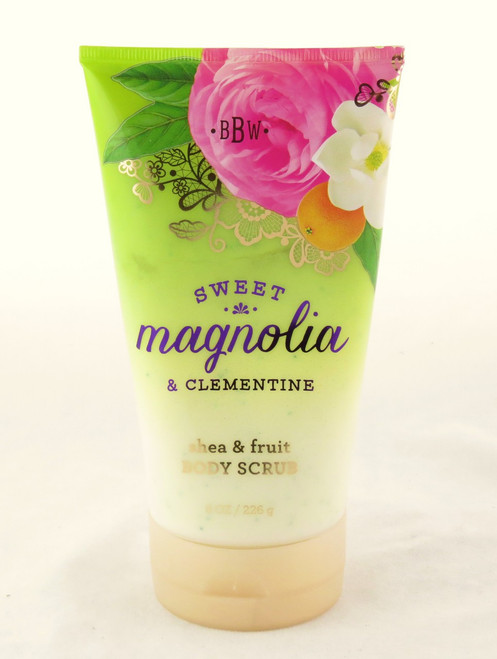 Shop now for Sweet Magnolia Bloom Clementine Fruit Shea Body Scrub Bath and Body Works