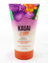 Shop here now for Kauai Lei Flower Crushed Coconut Shells Body Scrub Bath and Body Works