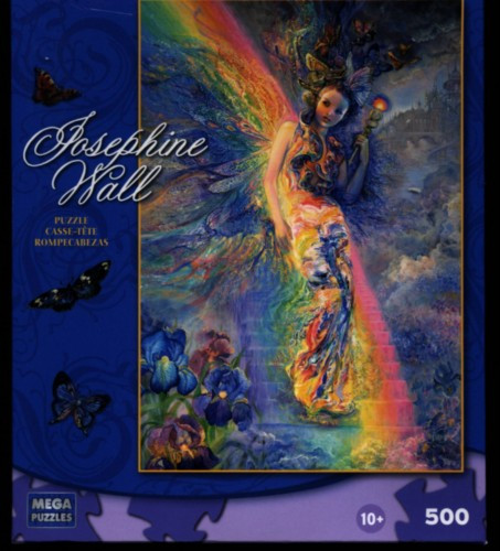 Keeper of the Rainbow 500 piece Jigsaw Puzzle by Josephine Wall