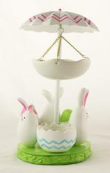 Shop now for Bunny Dance Yankee Candle Tea Light Oil Warmer