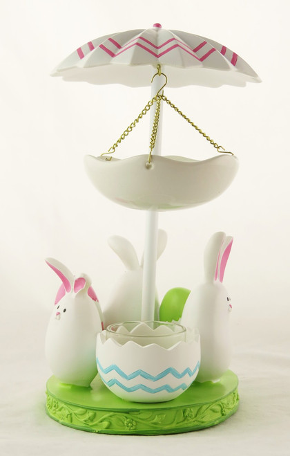 Shop now for Bunny Dance Yankee Candle Tea Light Oil Warmer