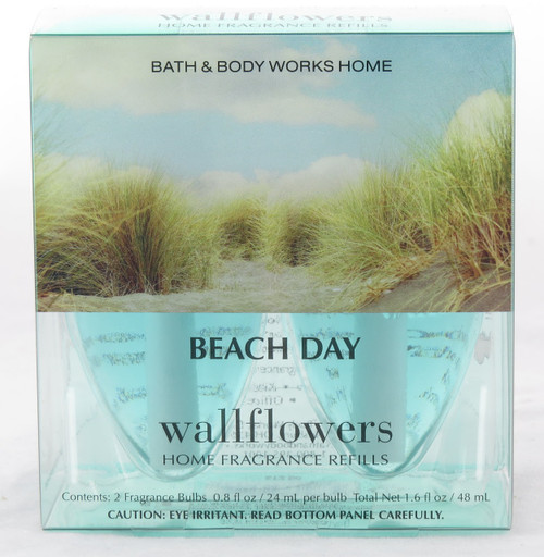 Shop now for Beach Day Bath and Body Works Wallflowers Fragrance Bulb 2-pack refill
