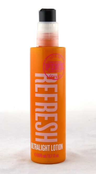 Shop here now for Refresh PINK Ultra Light Victoria's Secret Body Lotion Summer Sunny Fun