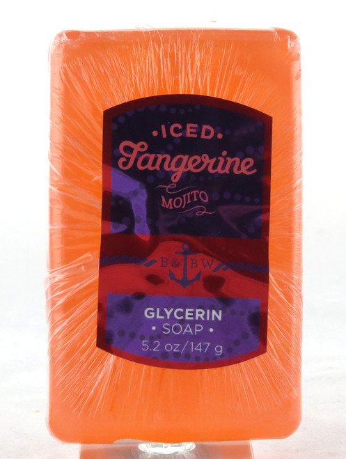 Shop here now for Iced Tangerine Mojito Glycerin Bar Soap Bath and Body Works