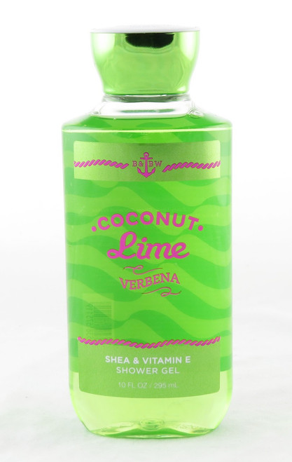 Click here to shop now for Coconut Lime Verbena Shower Gel Body Wash
