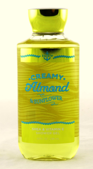 Hurry and shop now for Creamy Almond and Sunflower Shower Gel Bath and Body Works
