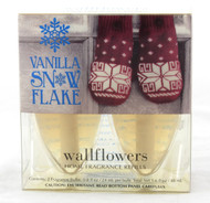 Click here to buy Vanilla Snowflake Wallflower Fragrance Bulb 2-Pack Bath and Body Works