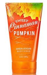 Shop here now for Sweet Cinnamon Pumpkin Shea and Sugar Body Scrub Bath and Body Works