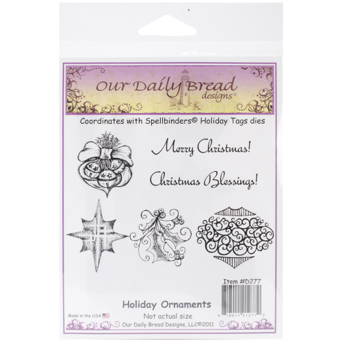 Shop now for Holiday Ornaments Our Daily Bread Cling Stamp