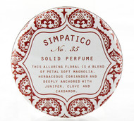 No. 35 Petal Solid Perfume Decorative Tin Simpatico 1oz
