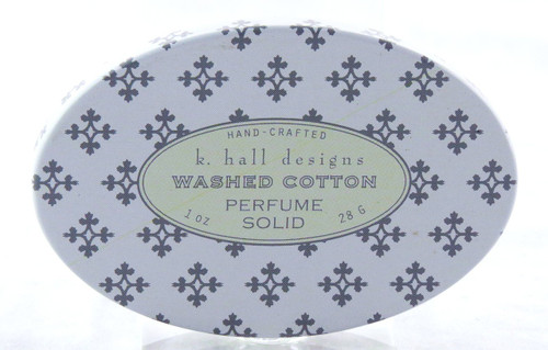 Washed Cotton Solid Perfume Decorative Tin K. Hall Design