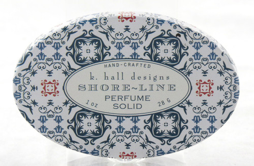 Shoreline Solid Perfume Decorative Tin K. Hall Design