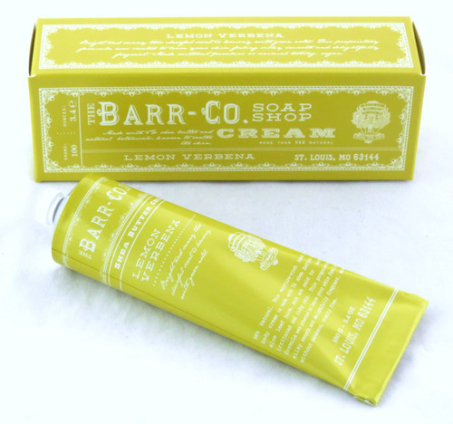 Shop here now for Lemon Verbena Shea Butter Hand and Body Cream Barr-Co. Soap Shop 3.4oz